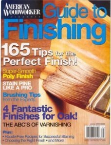American Woodworker – Guide to Finishing