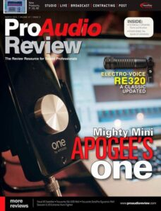 Pro Audio Review – March 2011