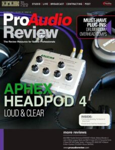 Pro Audio Review – October 2012