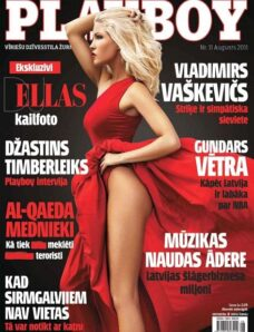 Playboy Latvia – August 2011