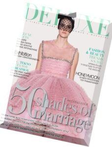 Deluxe Greece – March-April 2015 (The Wedding Issue)