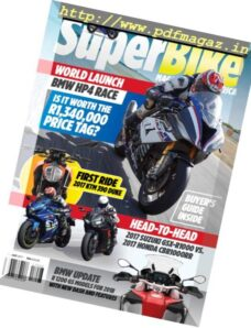 Superbike South Africa – August 2017