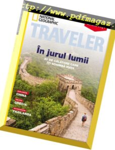National Geographic Traveler Romania – martie 2019