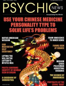 Psychic News – Issue 4193 – October 2020