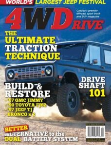 4WDrive – Volume 15 Issue 1 – February 2013