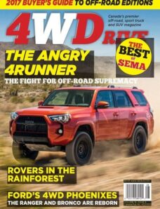 4WDrive – Volume 18 Issue 8 – December 2016