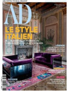 AD Architectural Digest France – mars-avril 2021