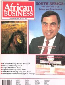 African Business English Edition – December 1994