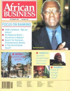 African Business English Edition – October 1994