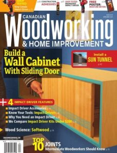 Canadian Woodworking & Home Improvement – April May 2021