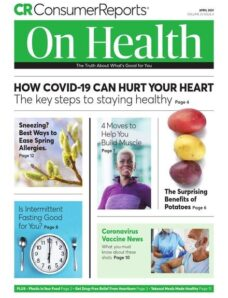 Consumer Reports on Health – April 2021