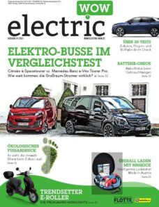 electric wow – Januar 2021