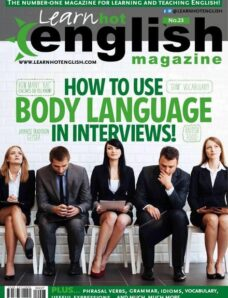 Learn Hot English – Issue 227 – April 2021