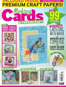 Making Cards & PaperCraft – March-April 2021