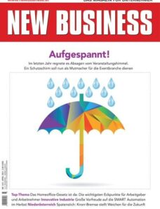 NEW BUSINESS – 07 April 2021