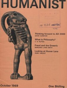New Humanist – The Humanist, October 1969