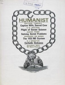 New Humanist – The Humanist, October 1971