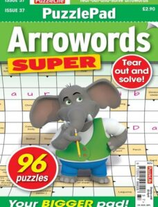 PuzzleLife PuzzlePad Arrowords Super – 25 March 2021