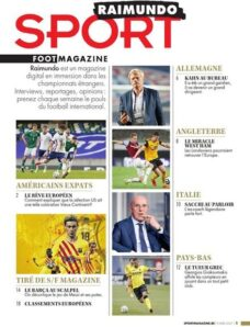 Sport Foot Magazine Raimundo – 9 Avril 2021