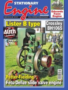 Stationary Engine – Issue 480 – March 2014