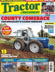 Tractor & Machinery – April 2021