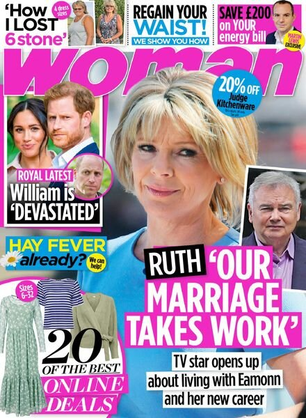 Woman UK – 22 March 2021