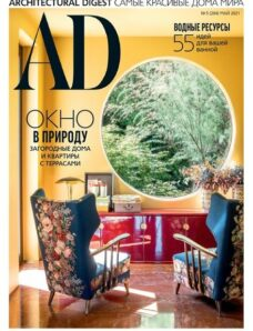 AD Architectural Digest Russia – May 2021