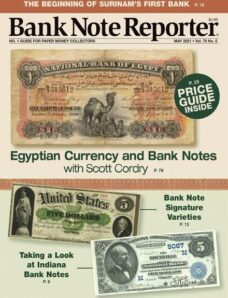 Banknote Reporter – May 2021