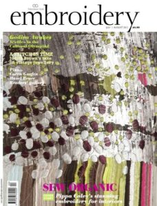 Embroidery Magazine – July-August 2012