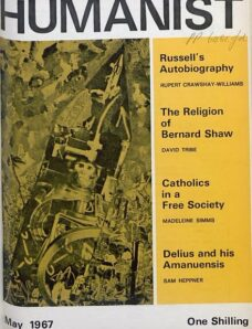 New Humanist – The Humanist, May 1967