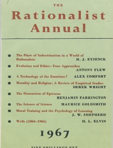New Humanist – The Rationalist Annual, 1967