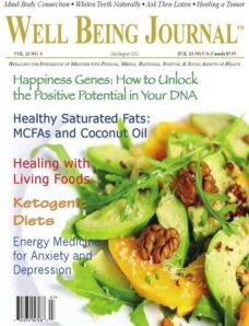 Well Being Journal – July-August 2012