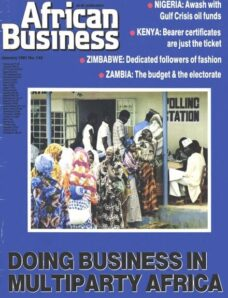 African Business English Edition – January 1991