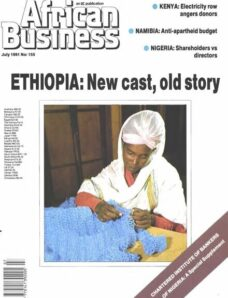 African Business English Edition – July 1991