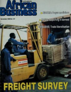 African Business English Edition – November 1990