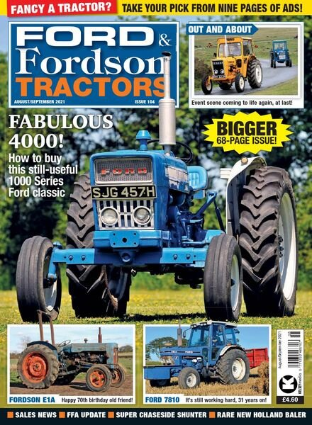 Ford & Fordson Tractors – August-September 2021