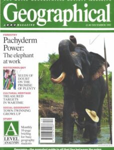 Geographical – December 1992