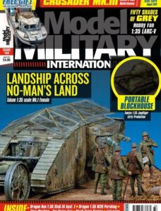 Model Military International – Issue 184 – August 2021
