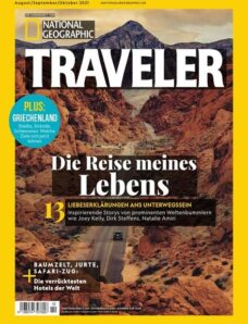 National Geographic Traveler – August 2021
