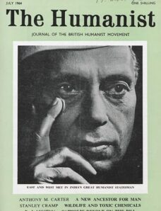 New Humanist – The Humanist, July 1964