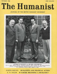 New Humanist – The Humanist, October 1964