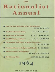 New Humanist – The Rationalist Annual, 1964