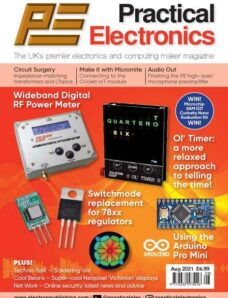 Practical Electronics – August 2021