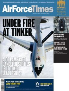 Air Force Times – 09 August 2021
