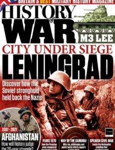 History of War – August 2021