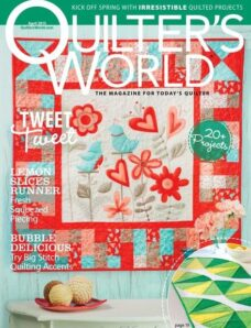 Quilter's World – April 2013