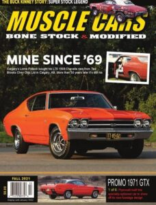 Muscle Cars – Fall 2021