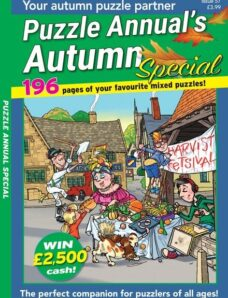 PuzzleLife Puzzle Annual Special – 09 September 2021