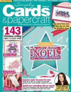 Simply Cards & Papercraft – Issue 222 – September 2021